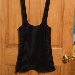 Forever21 Suspender like stripped skirt.